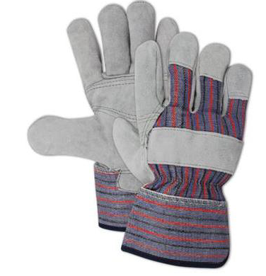 Split Leather Palm Gloves / Dozen 1
